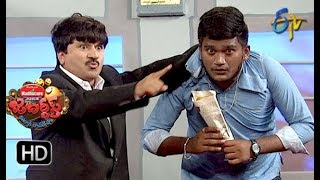 Rocket Raghava Performance | Jabardasth |  2nd August 2018 | ETV  Telugu