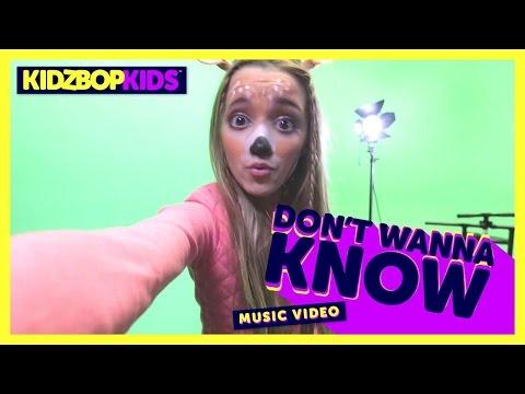 KIDZ BOP Kids - Don't Wanna Know (Official...