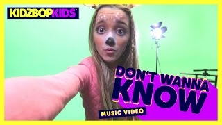 Смотреть клип Kidz Bop Kids - Don'T Wanna Know