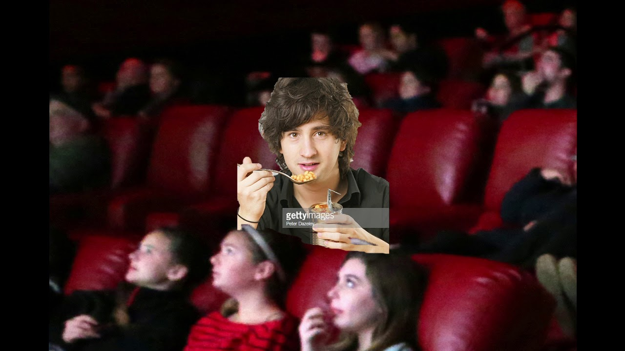 Asmr Man Eating Beans While Watching Cars 2 In The Theater Youtube