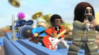 Lego Rock Band Launch Trailer