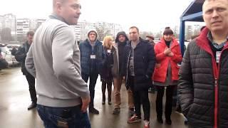 """Эвакуация в гипермаркете """"Эпицентр"""" в Запорожье"""