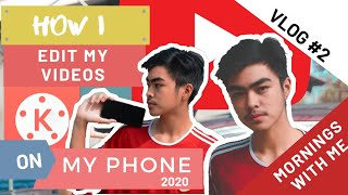 QUARANTINE VLOGS#2: How I edit my videos on my phone │Editing tips and tricks │Morning Routine (PH)