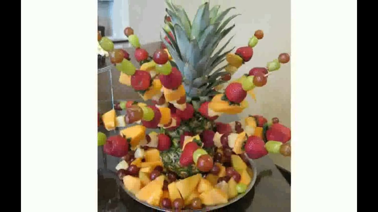 Biorada decoration de fruit youtube for Decoration fruit