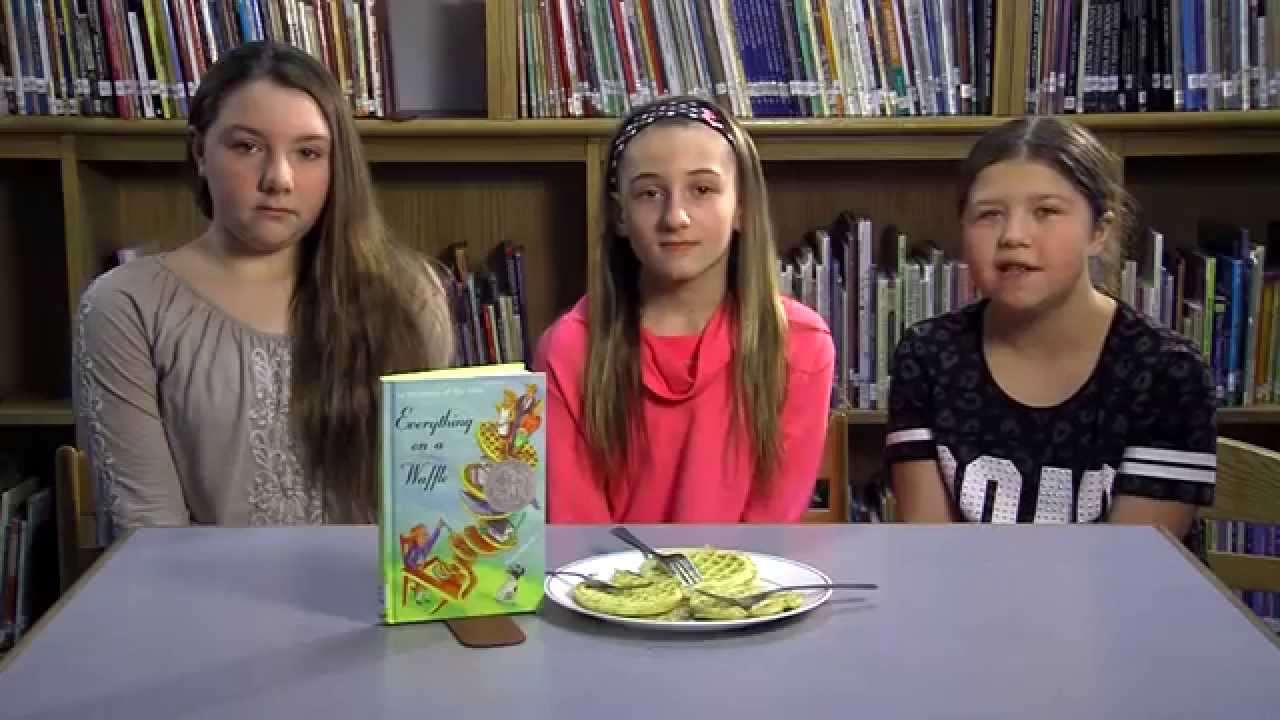 Homework Hotline Book Review: Everything on a Waffle - YouTube