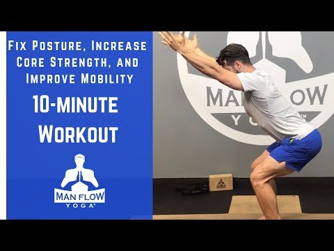 10-Minute Workout to Fix Posture, Increase Core Strength, and Improve Mobility