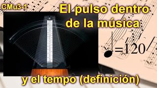 El tempo y el pulso en la música. Lección musical 3-1, INTERACTIVA, FÁCIL Y DIVERTIDA
