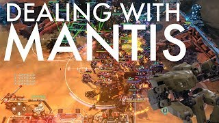 Halo Wars 2 - Dealing with Mantis-Heavy Defense on the Turtliest Map of All Time