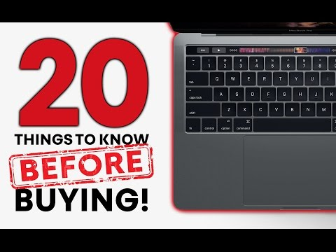 2016 MacBook Pro  20 Things Before Buying!