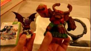 Skylanders: Giants Starter Pack Unboxing (Cynder, Jet-Vac, Tree Rex, Game and Portal)