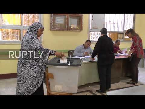 Egypt: Presidential election kicks off in Cairo
