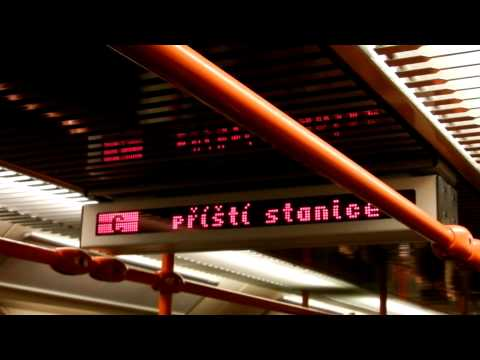 Prague Metro I.P. Pavlova to Muzeum 5-14-2011 FULL HD 1080P