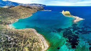 Crete (Greece) by drone in 4k (DJI Mavic Pro)