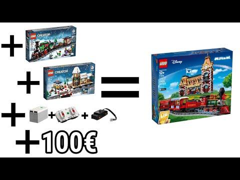 Analyse: Was wir alle VERGESSEN haben!   LEGO Disney 71044 Train & Station   News