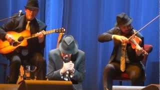 Leonard Cohen Show Me the Place Live Montreal 2012 HD 1080P