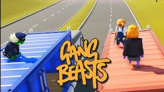 INTENTA ESQUIVAR LOS CARTELES!! Gang Beasts #6