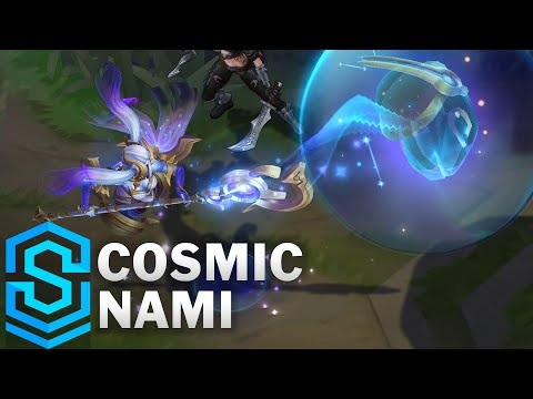 Cosmic Nami Skin Spotlight - Pre-Release - League of Legends