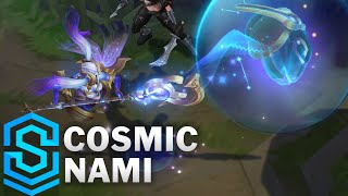 Cosmic Nami Skin Spotlight - Pre-Release - League of Legends