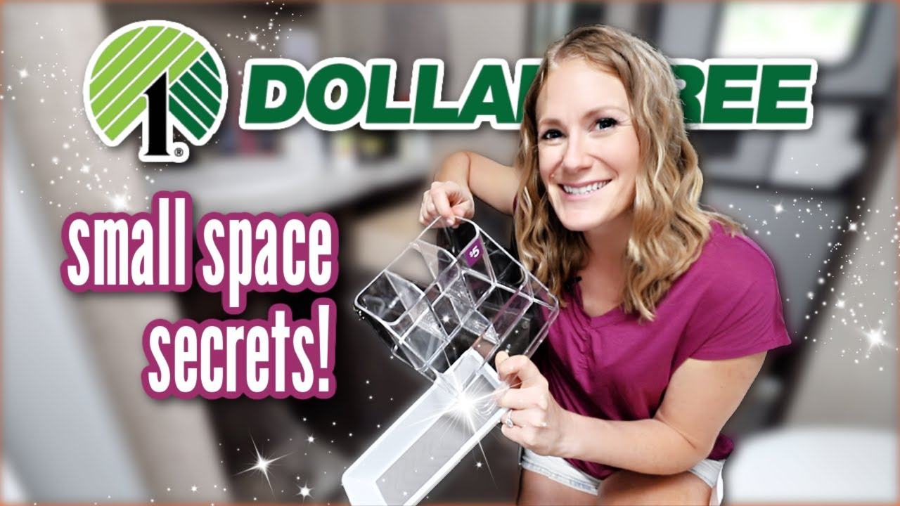 *NEW* DOLLAR STORE Small Space Organizing that WORKS! 🌟 15 pro secrets & motivation you need!