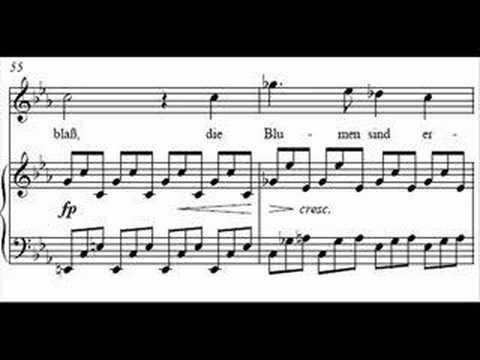 """Schubert - Winterreise, D 911 """"Erstarrung"""" - D F Dieskau"""
