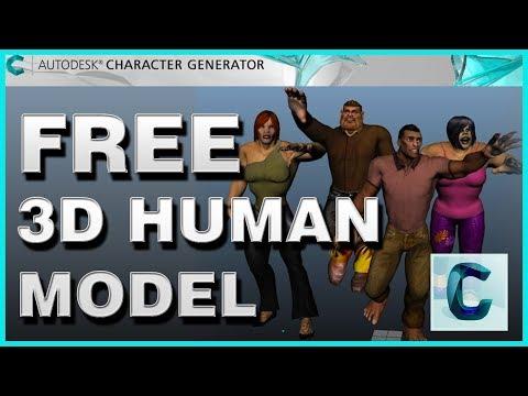 Character Generator Autodesk Download - Autodesk character generator 2018 (3DMAX,MAYA,UNITY ETC.)