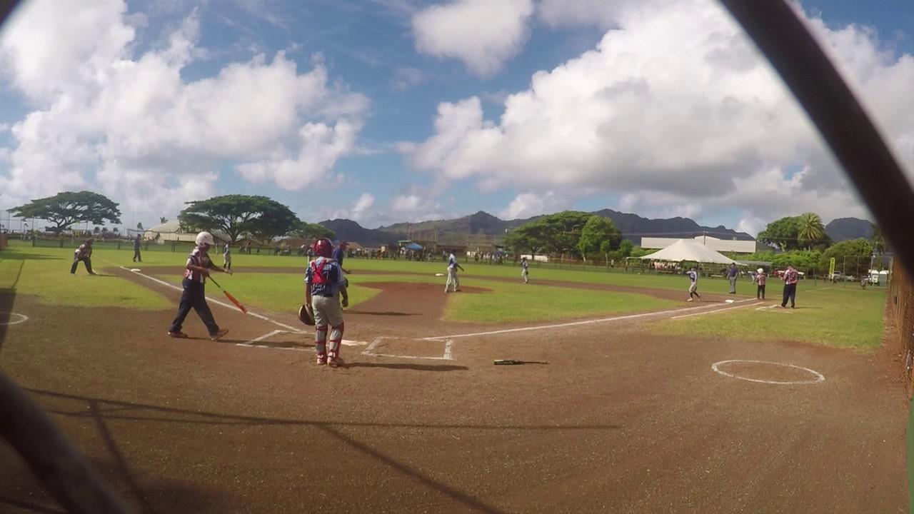 2016 Mustang 10 Hawaii State Tournament Championship Game - Maui vs  Hawaii  Kai