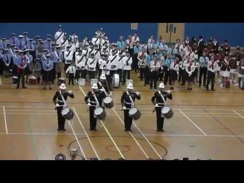 Muster at the TYMBA Nationals 2014 with a performance from HM Royal Marines Corps of Drums