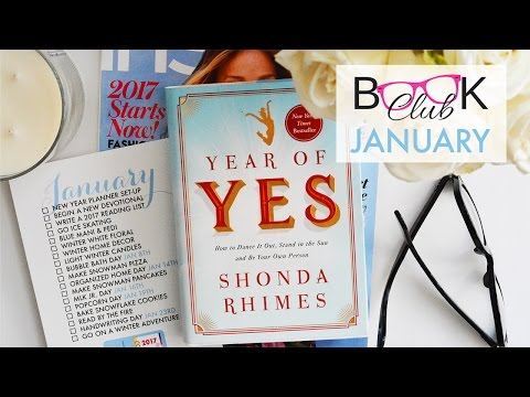 Paper & Glam Book Club January 2017: Year of Yes!