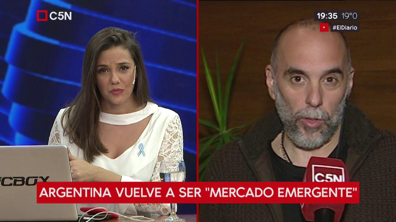 "Argentina vuelve a ser ""mercado emergente"": habla Agustín D'Atellis"