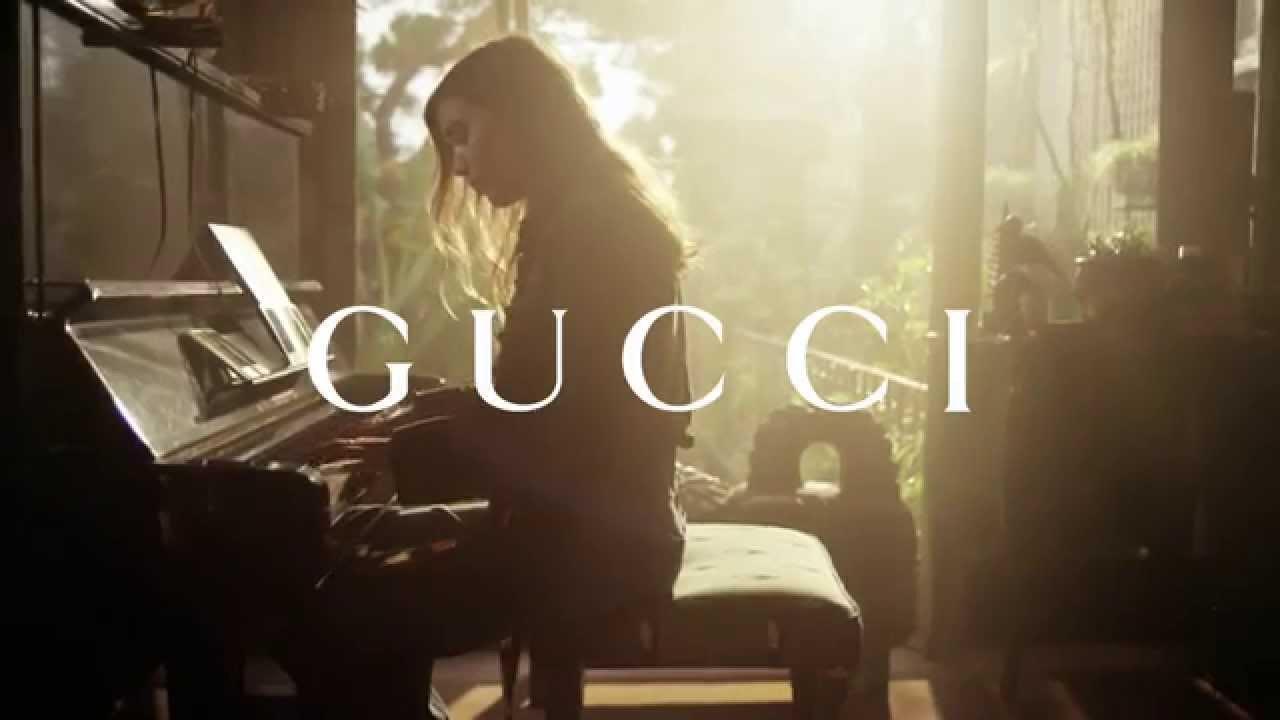 Lykke Li & the Lady Web   Gucci Spring 2015