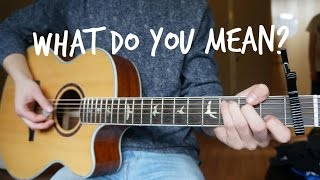 Justin Bieber - What Do You Mean - Guitar Cover