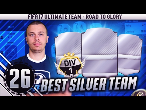 BEST SILVER SQUAD TO WIN DIVISION 1 IN FIFA 17 ULTIMATE TEAM / ROAD TO GLORY #26 SILVER EDITION