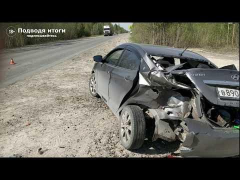 11 мая 2020г - Мотоциклист на спорт байке врезался в попутный автомобиль Хендай Солярис