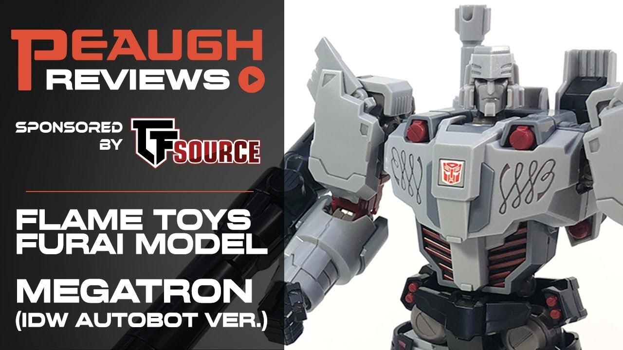 Flame Toys Transformers IDW Autobot Ver Megatron Furai Model Kit
