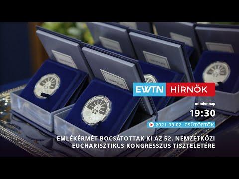 Download Emlékérmét bocsátottak ki az 52. Nemzetközi Eucharisztikus Kongresszus tiszteletére - 2021-09-02