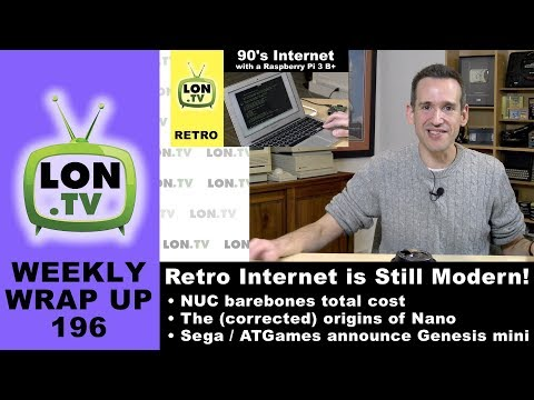 Weekly Wrapup 196 - Total cost of NUC barebones kits, shell access is retro and modern, and more!