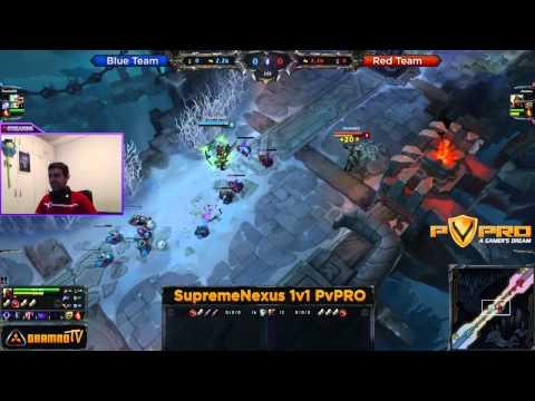 SupremeNexus PvPRO League of Legends Premium 1v1 Turnir - FInale i intervju sa Pobednikom