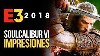 SOUL CALIBUR 6 GAMEPLAY: Geralt y modo historia | MERISTATION