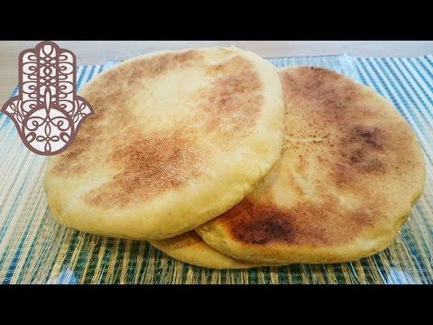 matlouh-pain-à-la-semoule