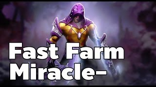 Anti Mage Fast Farm Dota 2 By Miracle-