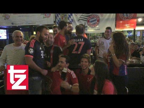 """""""Humba Humba"""" - Auch im Libanon feiert man den FC Bayern München"""