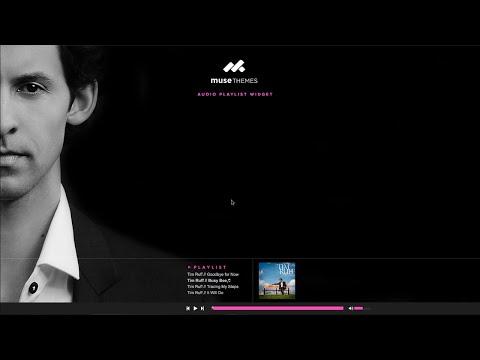 Adobe Muse Audio Playlist Widget - MuseThemes.com