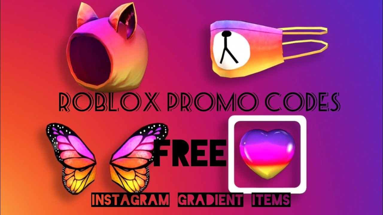 Only February 2020 Free Roblox Promo Codes Instagram Items