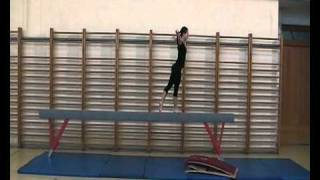 Skolska gimnastika - greda