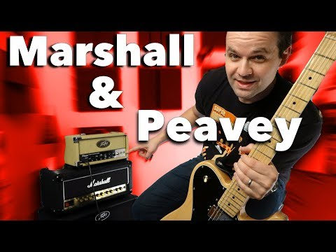 Banging Heads Together - Peavey Classic 20 MH VS Marshall DSL20HR
