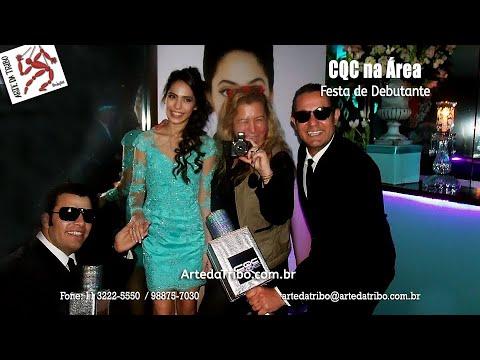 Nossos repórteres CQC e PAPARAZZO marcaram presença na FESTA DE DEBUTANTE da Carol recebendo os convidados de uma forma incrível!