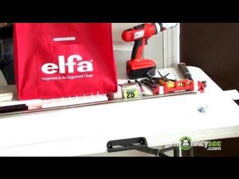 Closet Organization   Beginning Installation Of Elfa Closet System