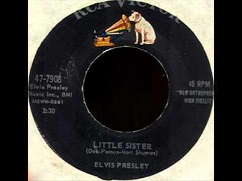 Elvis Presley - Little Sister, Mono 1961 RCA Victor 45 record.