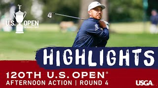 2020 U.S. Open Highlights, Round 4: Afternoon Action