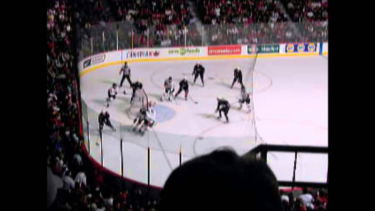 2006 WJHC Team USA Vs Canada WINNING GOAL